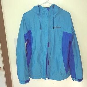 Women's Large Columbia Arcadia II Raincoat Jacket